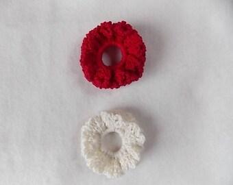 Darling pink and white crochet handmade