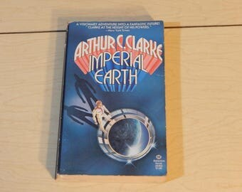 Imperial Earth - Arthur C. Clarke  - Science Fiction - Vintage Paperback Book