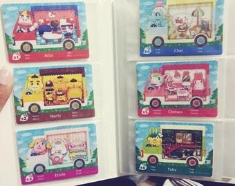 Animal Crossing: New Leaf x Sanrio Amiibo Cards FANMADE