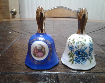 Two vintage enesco bells