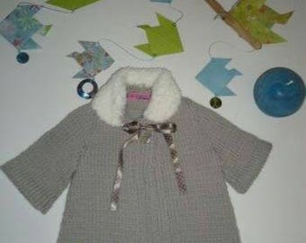 Knit girl coat (3 months)