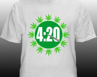 4:20 Clock (T-shirt)