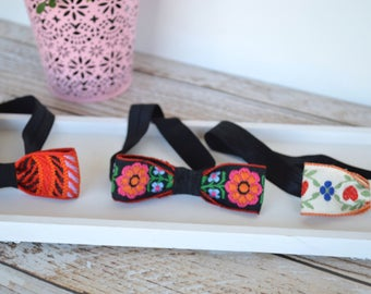 Because Im Mexican Collection, Mexican Inspired print headband or hair clip, Mexican print headband, Mexican print hair clip