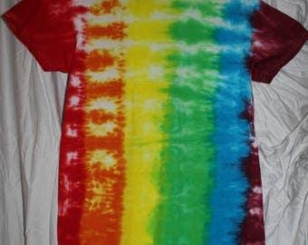 Vertical Stripe Tie Dye