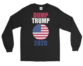 Dump Trump Long Sleeve T-Shirt