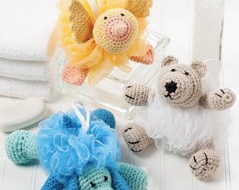 Bath Buddy Scrubbies, Bath time, Fun time, Animals, Kids Gift