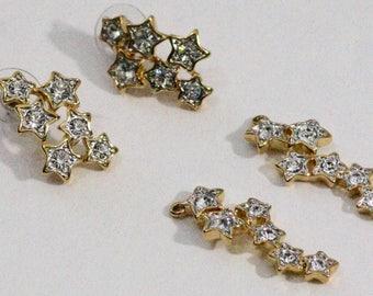 Nolan Miller Star Dangle Earrings
