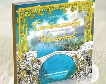 Wonderland-Coloring Book For Adults