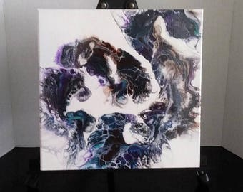 Original Fluid Art Painting