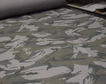 """Urban DPM Tactical Camouflage Brushed Cotton Twill Camo Fabric 58""""W Soft Durable"""