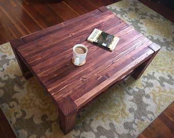 Custom coffee table Etsy