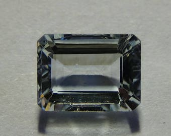 1.5 ct Emerald Cut Aquamarine