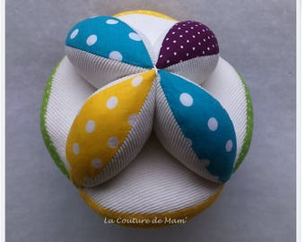 Gripper colourful MONTESSORI ball