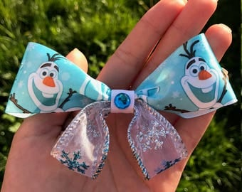 Disney Frozen Olaf hair  bow