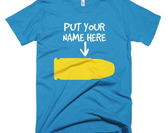 Put your name here Short-Sleeve T-Shirt