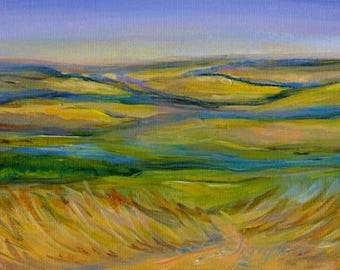 Landscape Original Acrylic Painting
