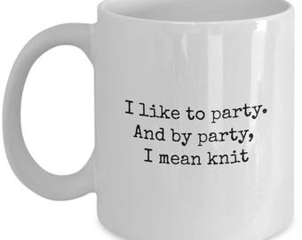 Gift for knitter, mugs for knitters, knitting coffee cup, knitter gift, gifts for knitters, knitting mug