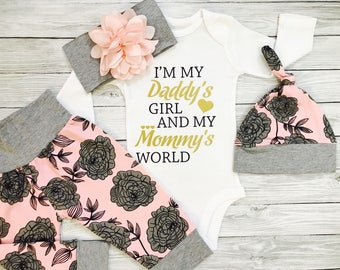 Baby Girl Clothes, Baby Girl Coming Home Outfit, Baby Girl Gift, Baby Girl Outfits, Baby Girl Clothes Winter, Baby Girl, Newborn Baby Girl