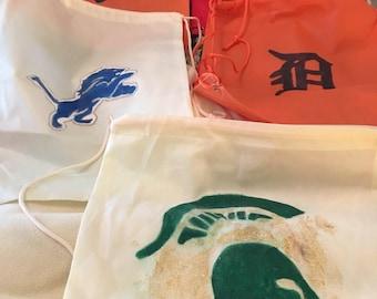 Polyurethane Sports Drawstring Bag