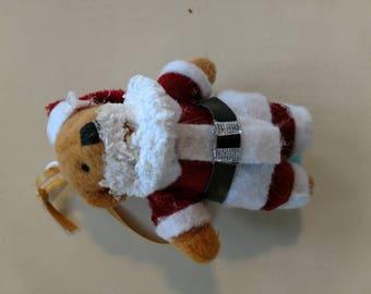 Custom decorated Santa Bear