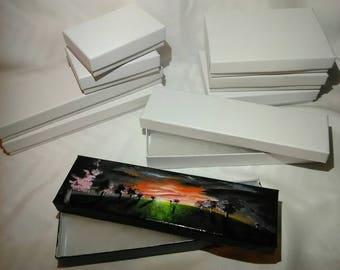 Custom Gift Box | Box with Lid | Necklace Box | Abstract Art | Landscape Art | Bracelet Box | Mini Art | Small Box | Small Gift Box | Boxes