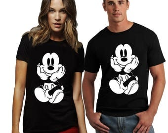 Disney T-Shirt Mickey Mouse Women's and Men's Shirt