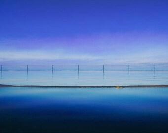 Coastal Landscape, Scenic Wall Art, ocean wave wall art, wave art print, blue Aqua Abstract, art print, coastal artwork, Ocean printable art