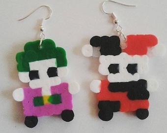 Joker and Harley Quinn Earrings