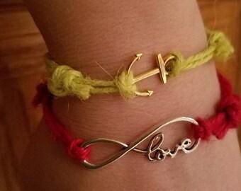 Twine Bracelets
