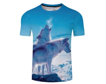 Wolf Shirt, Wolf Shirts, Wolf Tee Shirt, Wolf Tshirt, Wolves Shirt, Wolf T-shirt, Wolf, Wolves, Wolves Tshirt, Shirt, Wolf Tee - Style 13