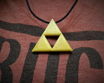 Gold Triforce|Triforce Necklace|Link Cosplay|Triforce Pendant|Triforce Necklaces|Breathe Of The Wild|Majoras Mask Art|Triforce|Zelda Cosplay