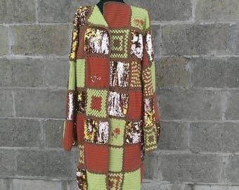 Вязаное пальто Манхэттен