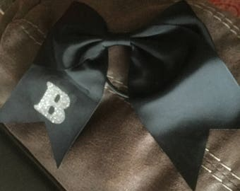 Cheer bows with letters