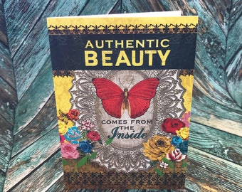 5x7 Authentic Beauty Greeting Card