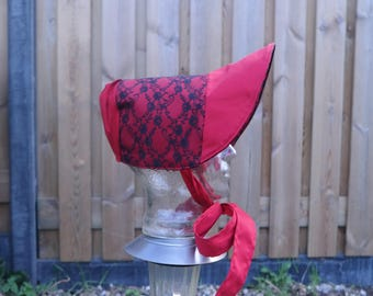 Beautiful Victorian, Charles Dickens Bonnet! Every colour possible