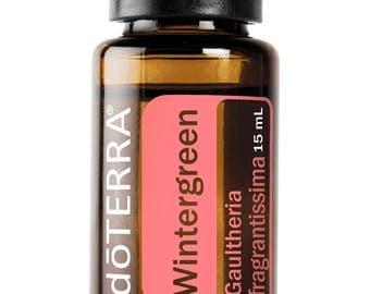 Doterra Wintergreen Essential Oil 15mL bottle