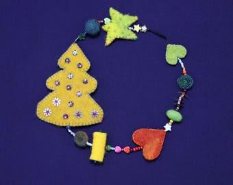 Magical Christmas Garland-enchanting Christmas garland k02