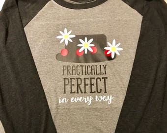 Mary Poppins tshirt - practically perfect in every way