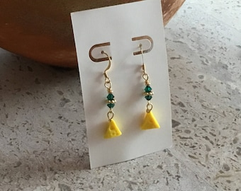 Green Bay Packer Earrings