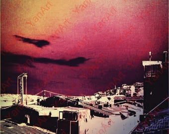 View over Istanbul,Digital Art, Art Prints or License for Art Prints