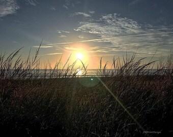 October Morning in Rehoboth Beach