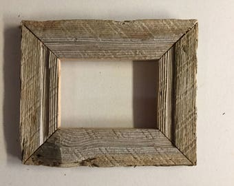 Barn wood frame for 5x7 picture