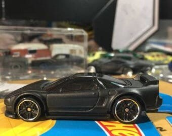 Custom Hot Wheels 90 Acura Nsx Flat Black