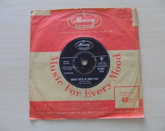 45 The Platters Smoke Gets In your Eyes / No Matter What You Are 45-AMT 1016 50s