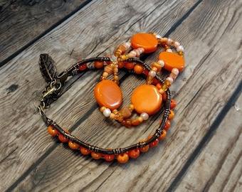 Boho bracelet set - bohemian bracelet set