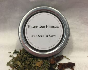 Cold Sore Lip Salve - 1/2 oz.