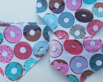 Donut Pattern Pet Bandana