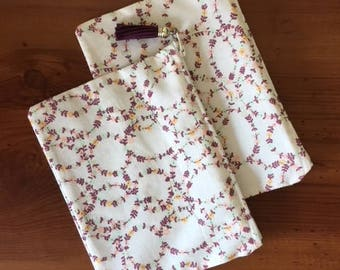 small pouch - floral