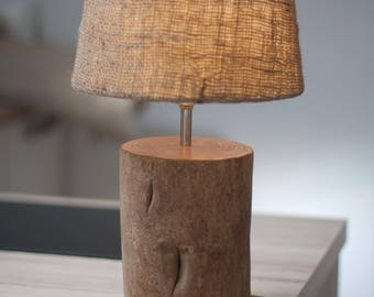 Lamp, Wood lamp, Floor lamp, Desk lamp, Wooden lamp,  Rustic lamp, Lighting, Lamps, Wood