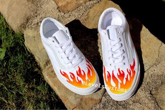 vans flame